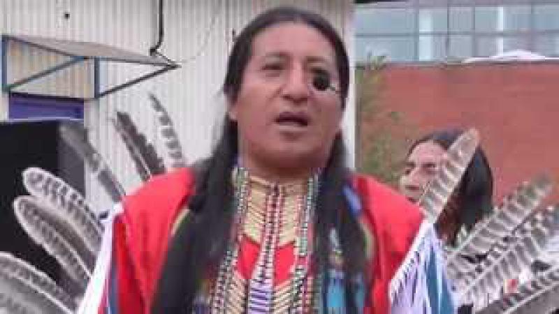 Индейцы Wuambrakuna в Москве
