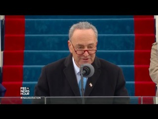 Chuck Schumer Makes Inaugural Speech and Introduces Supreme Court Justice Clarence Thomas