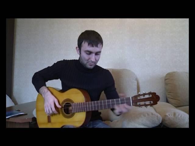 Гитарный мастер Магомед Авторханов