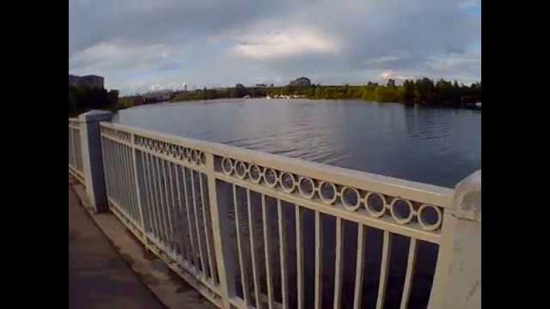 Влог. Прогулки. Большой страшный мост.