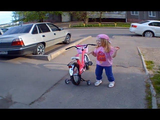 Влог. Прогулки. Третий день на большом розовом велосипеде. Пятый час прогулки. Та...