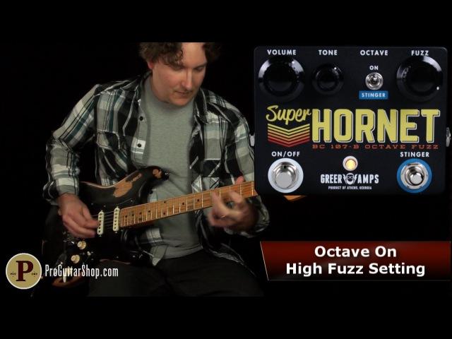 Greer Amps Super Hornet Octave Fuzz