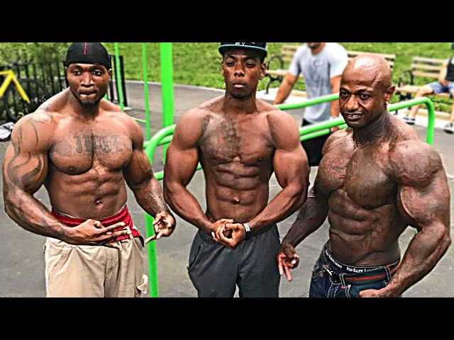 WORKOUT NY MONSTERs - Street Fitness Motivation 2017