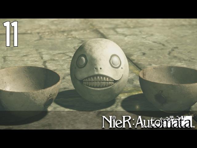 NieR: Automata 11 - Первая встреча с Эмилем и Лесное королевство