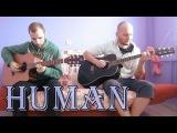 RagnBone Man - Human (acoustic guitar cover, tabs)