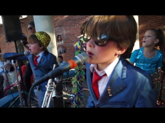 Little Big Shots Brass Band Twins Soul Man