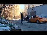 Красавица повелась на машину - Gold Digger prank