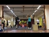 CrossFit_04.11.2016_2.Amrap 5' (0.8*Fran+Берпи)
