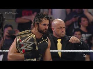 2015.05.17(3) - Четырехсторонний матч. Seth Rollins vs Randy Orton vs Dean Ambrose vs Roman Reigns