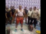 Пейман Махери - тяга 390 кг