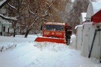 18 января 2012 - Последствия январьского снегопада 2012 в Тольятти