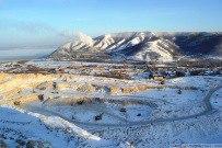 09 января 2012 - Зимняя карьерная гора в Яблоневом овраге Жигулёвска