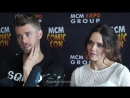 MCM London 2017 - Luke Mitchell, Rebecca Breeds
