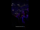 June 6 Selena singing and dancing to Six Feet Under at The Weeknds concert in Brookyln, NY! (2)