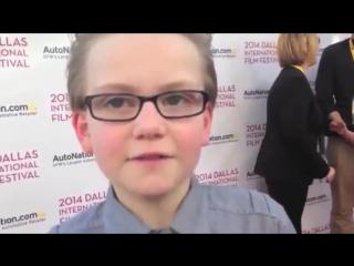 2014 International Film Festival of Dallas, and it was my first interviewee 2014 Международный кинофестиваль в Далласе, и это бы