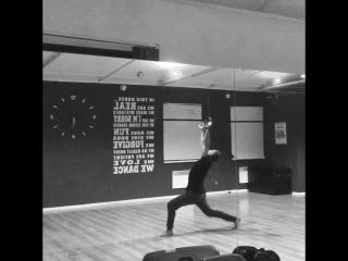 Choreography Christina Aguilera - Blank page (Фрагмент с занятия)