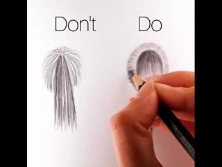 Как ПРАВИЛЬНО нарисовать хвостик