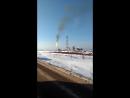 Факела на зимнике Усть-Кут. -Мирный.