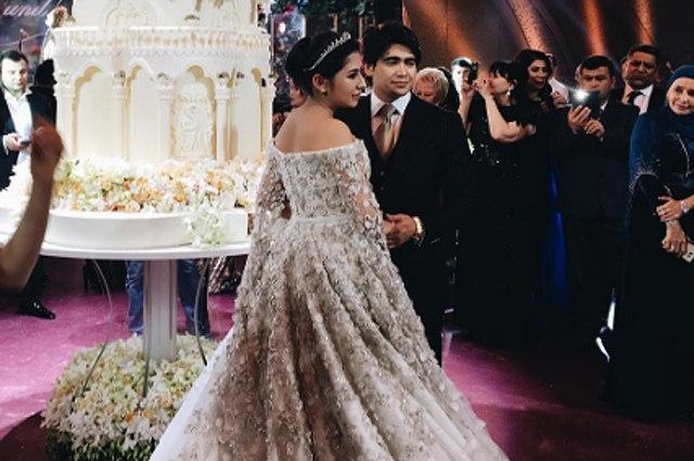 Таджикская принцесса рассказала о своей свадьбе и об свадебном платье за 40 миллионов рублей