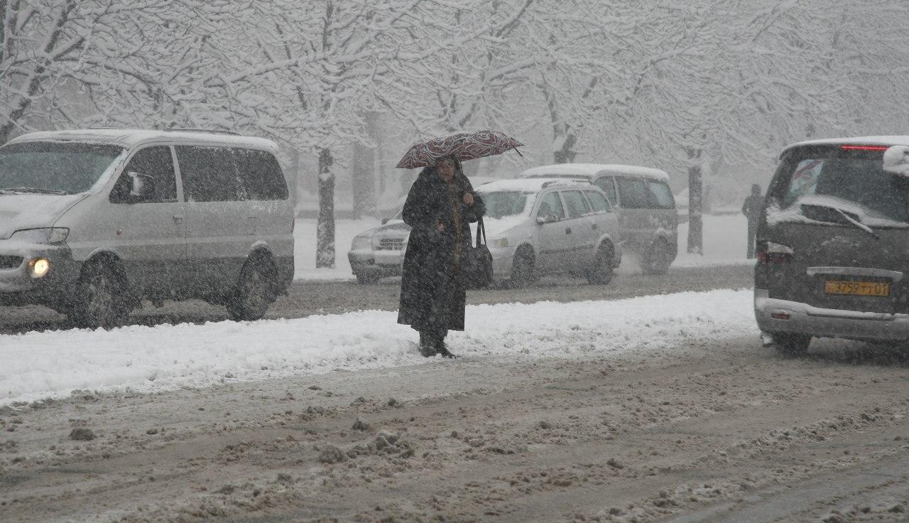 Синоптики прогнозируют очередные снегопады в Таджикистане