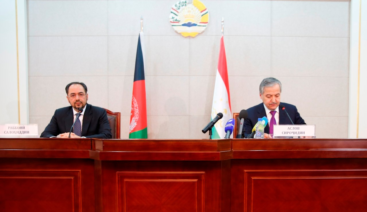 Аслов и Раббани заявили об общих интересах Таджикистана и Афганистана