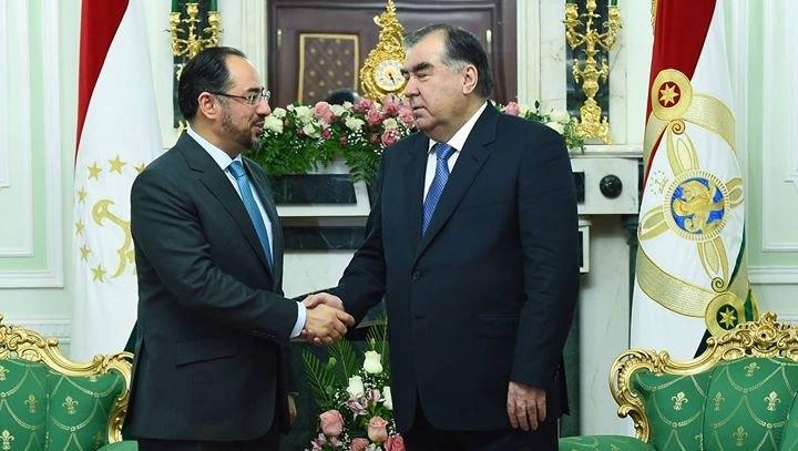 Президент поговорил начистоту с главой МИД Афганистана Салохиддина Раббани