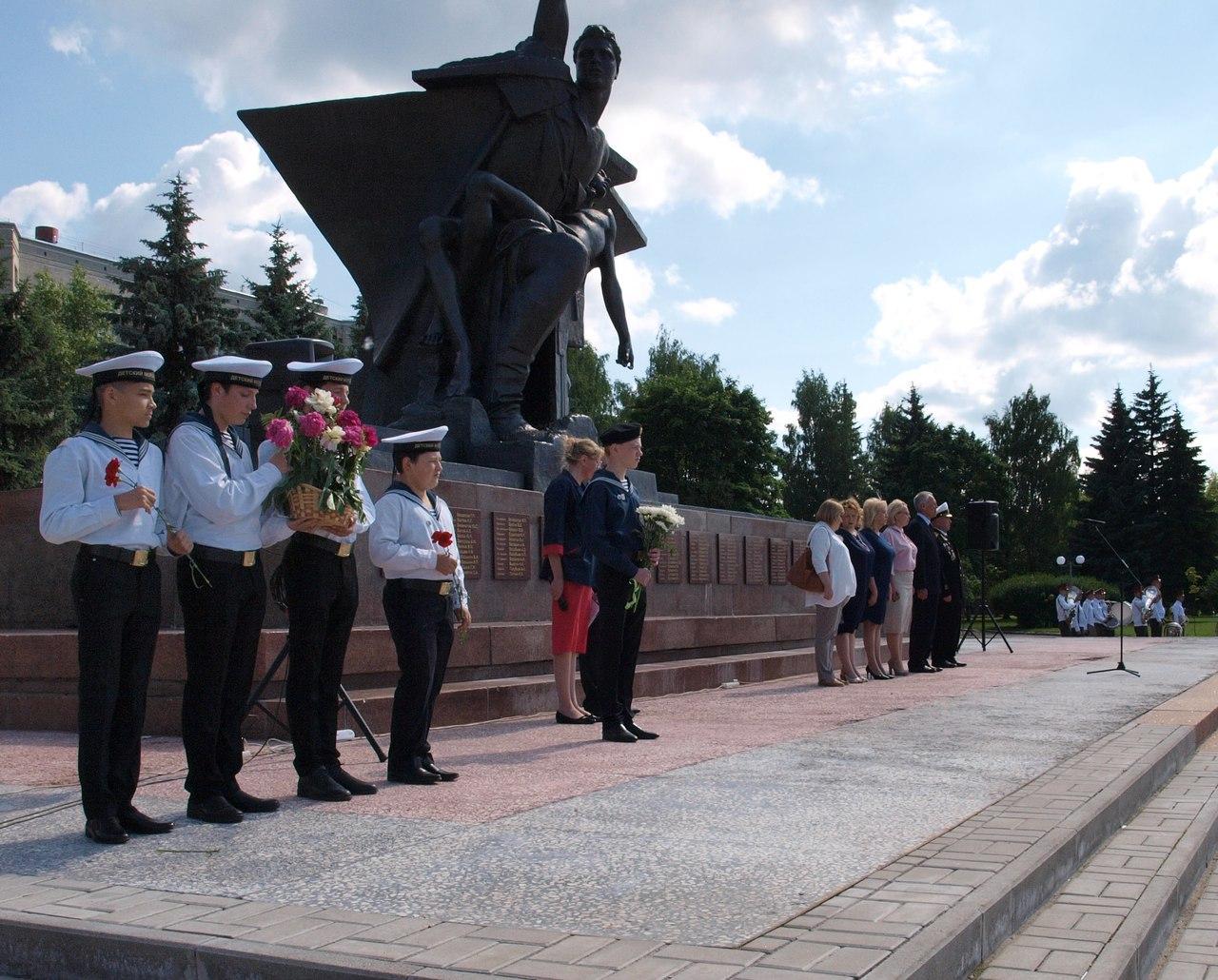 Межрегиональный слет юных моряков в Костроме!