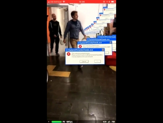 A system error in augmented reality.