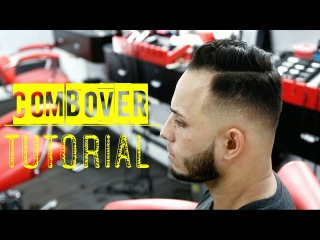 Sidepart Mid Fade Tutorial - Sergio Ramos Inspired Hairstyle