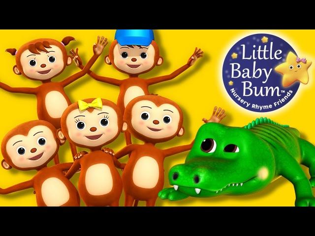 Little Baby Bum | Five Little Monkeys Swinging | Nursery Rhymes for Babies | Songs for Kids