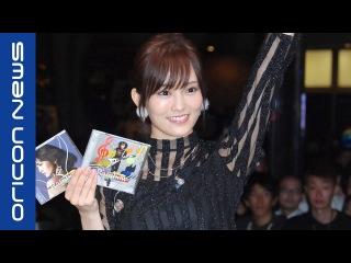 NMB48・山本彩、ソロライブ開催 初ソロアルバム1位でブルマ公演を約束 ソロデビューアルバム『Rainbow』発売記念イベント