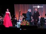 Концерт Пласидо Доминго в Казани. Общий выход на бис