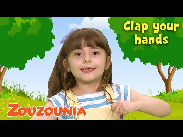 If Youre Happy 😀 and You Know It Clap Your Hands | Nursery Rhymes Baby Songs by Zouzounia TV