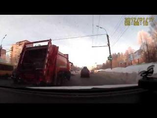 17 января 2017 года ДТП наезд на пешехода. Ижевск