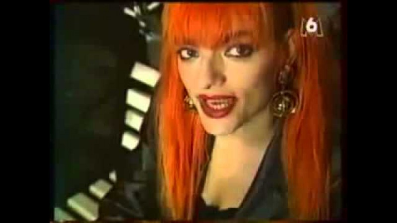 Nina Hagen - Interview (French TV Nouba - 1991)