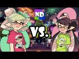 Callie vs. Marie Splatfest DANCE BATTLE Splatoon by GGGabrielGaming & Nintendome