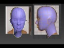 Class lecture: Autodesk 3ds Max 3D head modeling from box