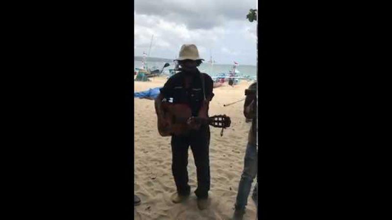 Bob Marley - No Woman No Cry Bali cover