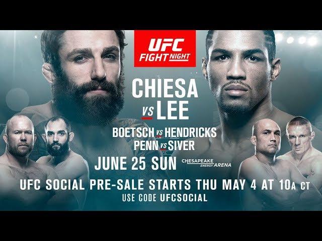 Кьеза против Ли (25.06.17) - Прогноз на Бой от UFC сообщества