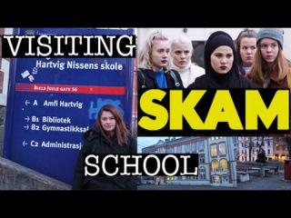 Visiting SKAM school