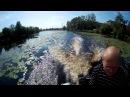 Тест болотохода Longtail RD200 на разных лодках