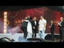 Награждение новых исполнительных директоров Настя в составе команды на сцене О...