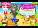 Говорящая Кошка Анжела Каникулы Детские Мультики Мультфильмы для девочек и мальчиков Children TV