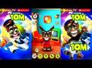 Говорящий Кот Том 5 Мультик Игра на русском для детей Talking Tom Cat Cartoon fun game ChildrenTV