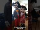 2017.01.19 Отзыв об аренде ростовых кукол Микки и Минни Маус от студии JOY