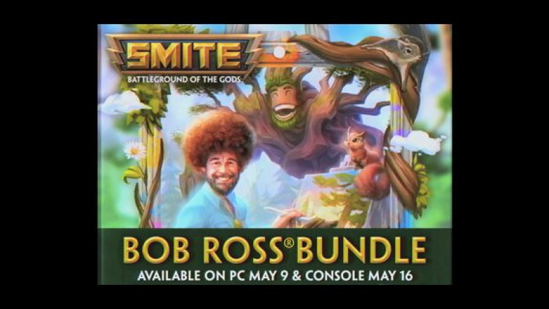 SMITE - Bob Ross Sylvanus - The Joy of Ganking