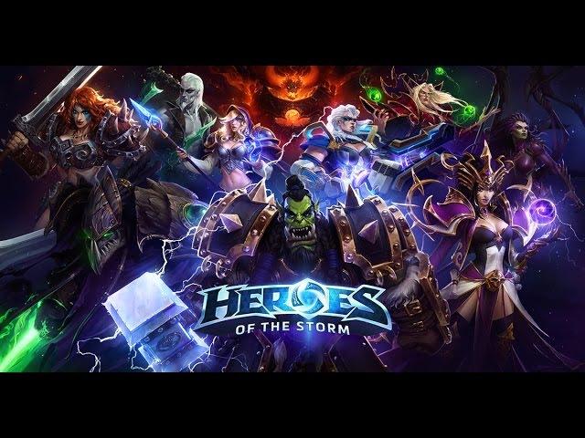 Let`s Play Heroes of the Storm ▶1◀ Обзор игры - 20 новых героев прикупили