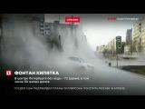 Из-за прорыва трубы было перекрыто движение по Измайловскому проспекту Петербурге