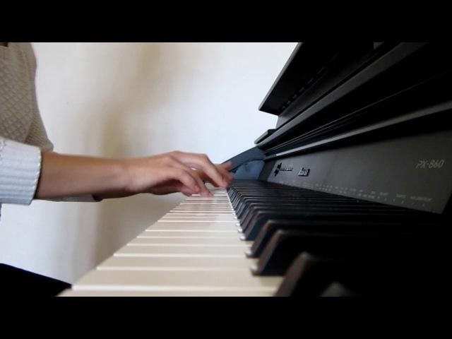 Oomph! - Zuviel Liebe Kann Dich Töten (piano cover by Ri)