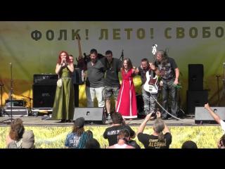 Фолк Саммер Фест 2017_группа ЛАДУШКА_репортаж
